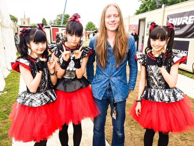 "Forget the ""baby metal"" girls, it's all about the gorgeous and talented Bill Steer for me :)"