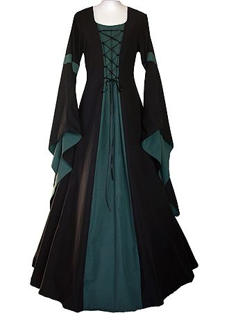 This is beautiful - dornbluth.co.uk - medieval dresses