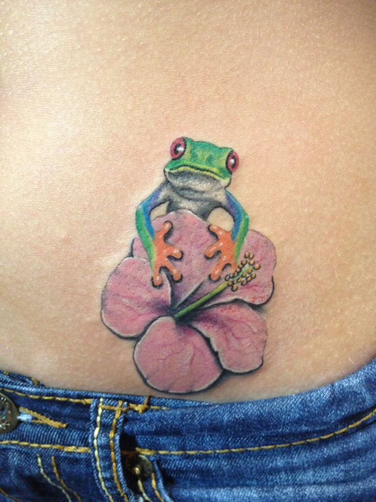 35 best frog and flower tattoos images on pinterest floral tattoos flower side tattoos and. Black Bedroom Furniture Sets. Home Design Ideas