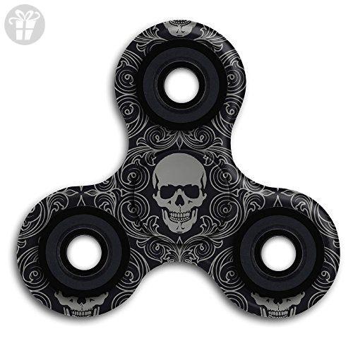 Topfiger Skull Fidget Spinner Pecfect For Obsessive-compulsive Disorder Mania ADHD Anxiety - Fidget spinner (*Amazon Partner-Link)