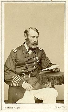 Francis Asbury Roe (1823-1901). Admiral of the U.S.Navy during the American Civil War.