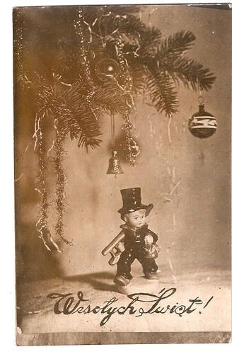 POLAND CHRISTMAS tree chimney-sweep ca 1950 | eBay