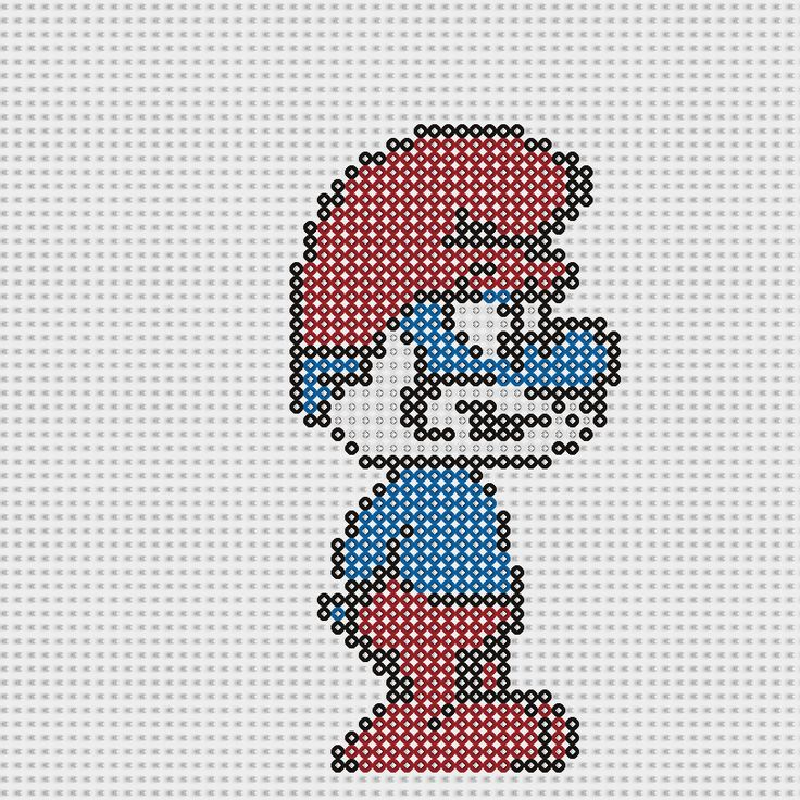 how to make smurf meaning beads
