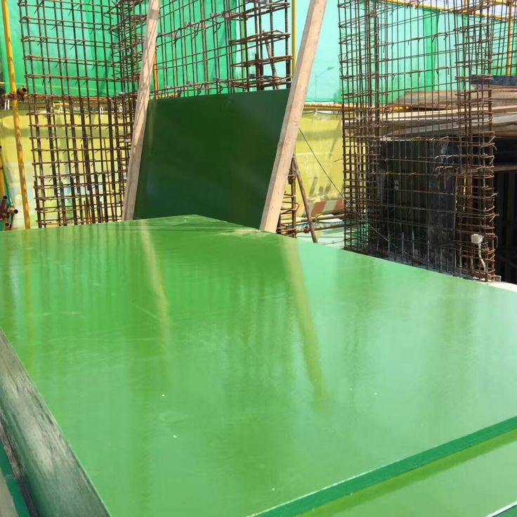 Green PP film faced plywood/marine plywood/shuttering plywood/concrete formwork plywood/phenolic board