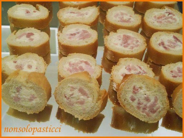 Rotelle di baguette ripiena - Ricette di non solo pasticci