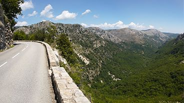 Nice to the Col de Vence, South of France