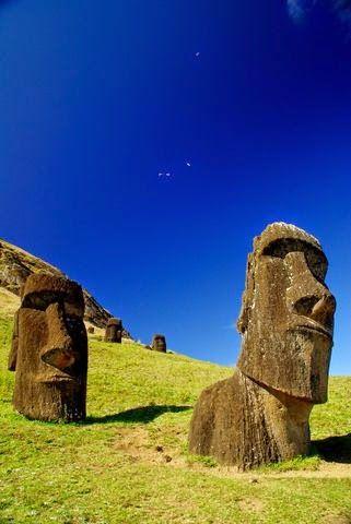 Isla de Pascua, Chile.                                                                                                                                                                                 Más