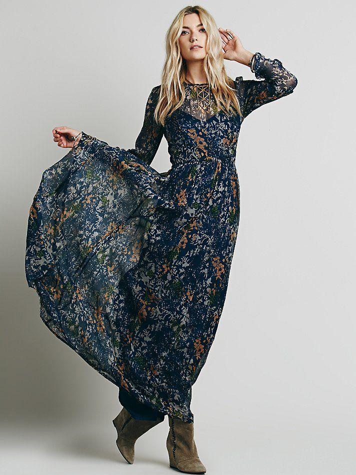 maxi dress slip n slide