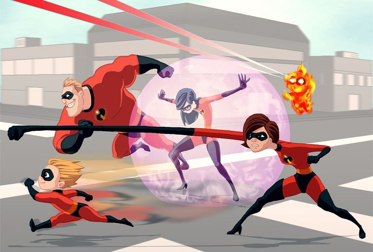 The Incredibles by shadowstheater.deviantart.com on @deviantART