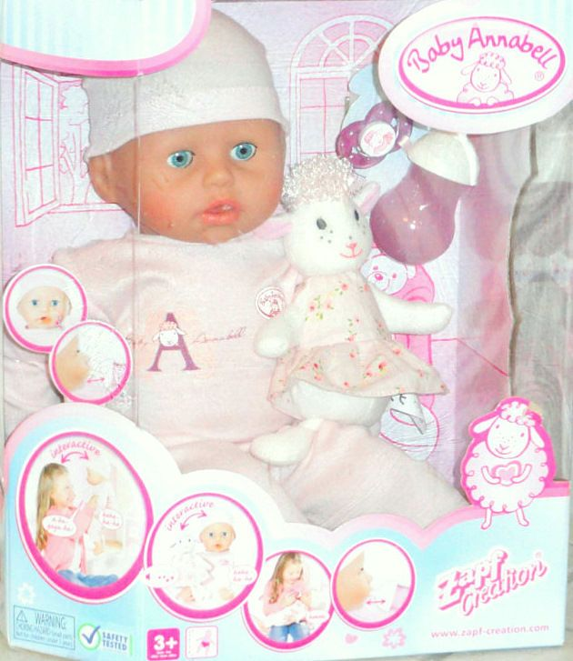 Details About Baby Annabell 18 In Girl Doll Interactive