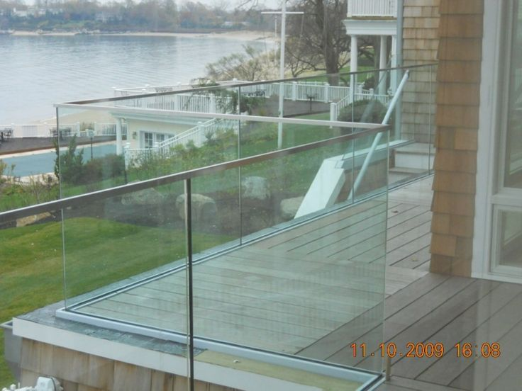 11 Best Glass Railings Images On Pinterest Banisters