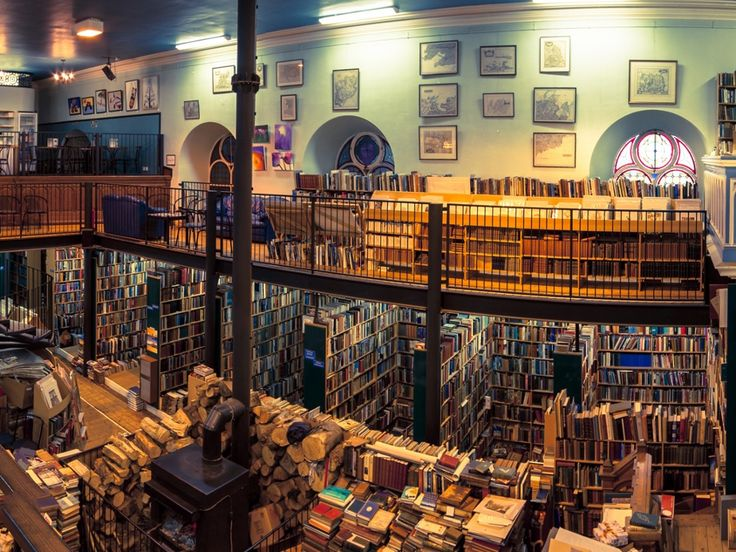 Leakey's Bookshopon Church Street in Inverness looks like it might be worth a visit. Housed in an old Gaelic church dating back to 1793, the second-hand book shop has a