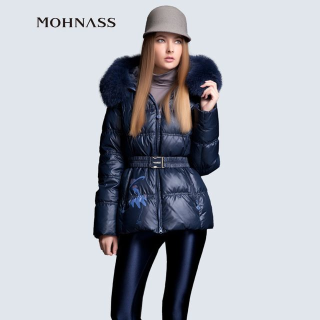 MOHNASS New Fashion down 2015 Winter Large Natural fox Fur Collar women Brand3 B7210 US $88.80 /piece    CLICK LINK TO BUY THE PRODUCT  http://goo.gl/oYWEYs