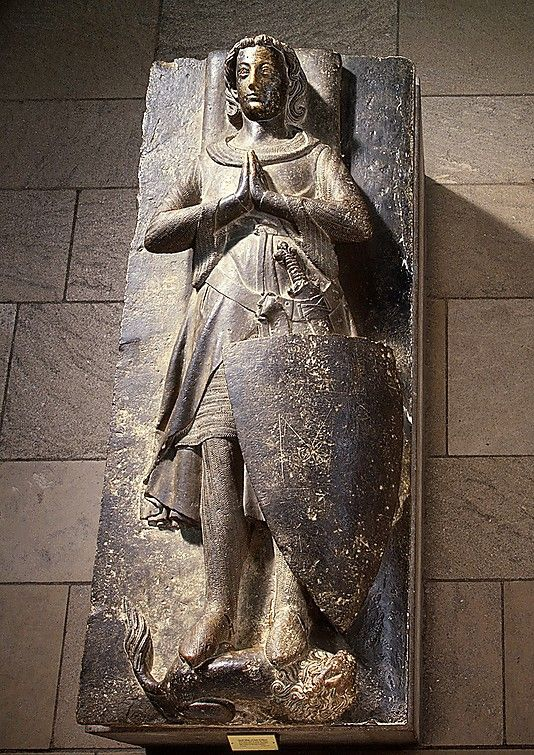 Effigy of Jean d'Alluye, ca. 1248