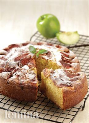 Femina.co.id: Eplekake. Kue apel khas Norwegia.