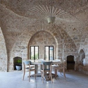 Renovated house in the ancient port of Jaffa, Tel Aviv.Jaffa House by  Pitsou Kedem.