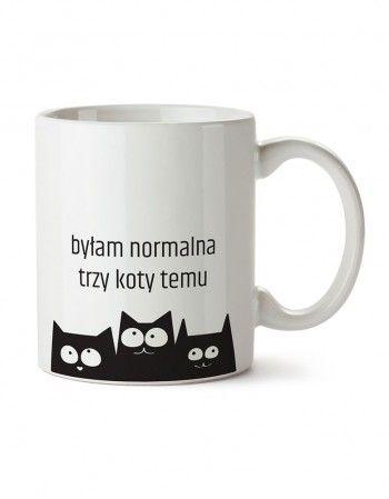 Kubek z Kotem - normalność http://www.panikota.pl/kubki/84-kubek-z-kotem-normalnosc.html #panikota #kubek #koty
