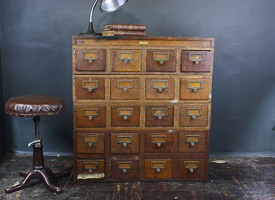 Antique Vtg Globe Wernicke Oak Wood Stacking File Library