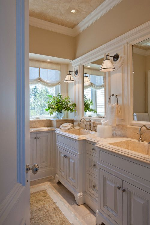 17 best images about window treatments on pinterest for Seascape bathroom ideas