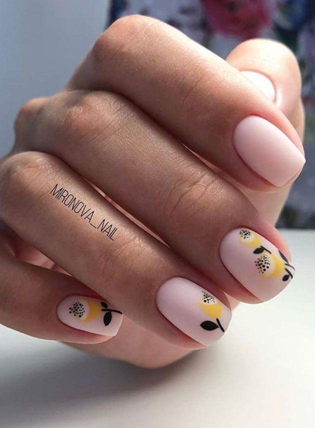 short nails design, Matte short nails design, Spring short square nails, short nails acrylic, short square nails, acrylic short square nails, neutral short nails,pretty short nails,summer nails,#Nails #Matte #MatteNails #ShortNails #SummerNails