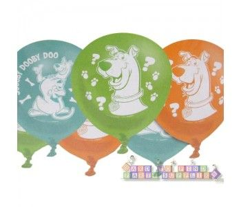 Scooby-Doo Where Are You! Latex Balloons (6ct)