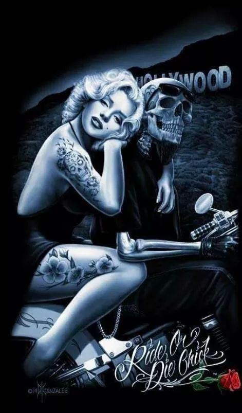 Ride or Die Chick... M M and death Steve Miller P & C Insurance Agency 702-981-9957