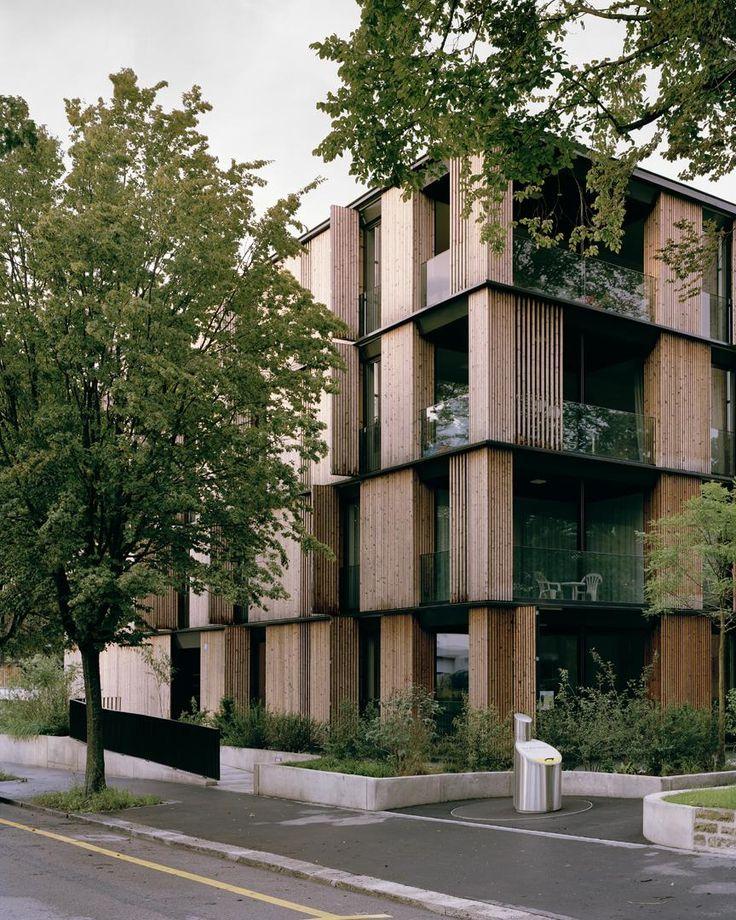 e2a - Escherpark housing, Zürich 2015.