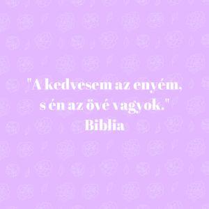 biblia szerelem