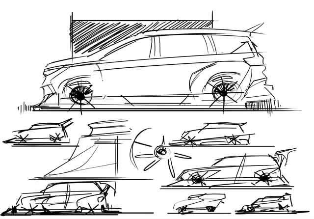 Rumah Modifikasi Amerika Tampilkan Ubahan Suzuki X7 Asal Indonesia Di 2020 Konsep Mobil