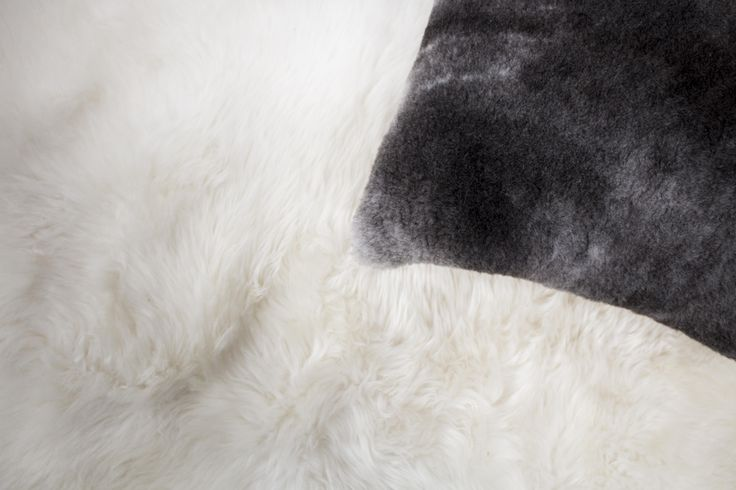 exotic sheepskin cushion - Ugg Australia made in Australia