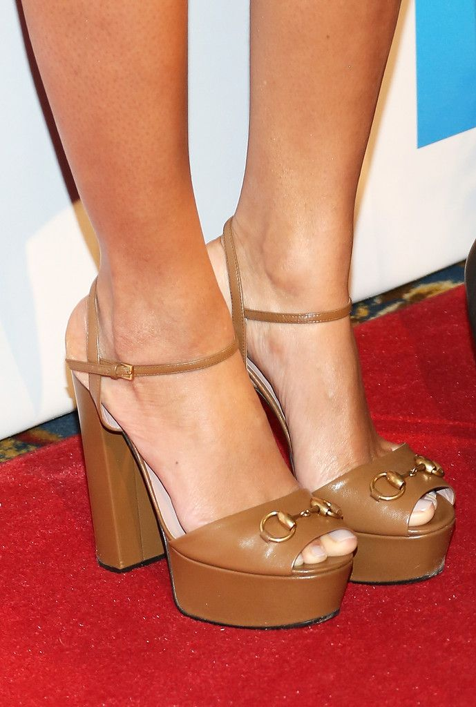 Singer Beyonce (shoe detail) attends the 2014 Billboard Women In Music Luncheon at Cipriani Wall Street on December 12, 2014 in New York City.