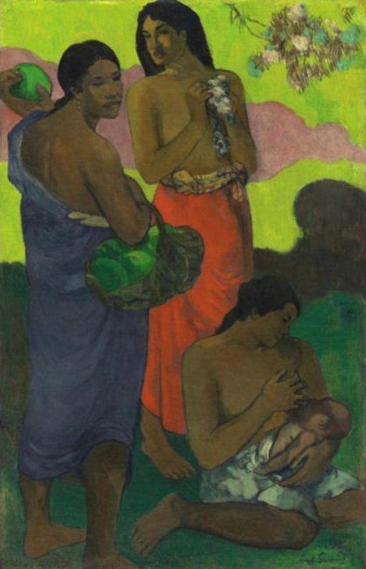 Μητρότητα ΙΙ (1899) Ιδιωτική συλλογή  Ο πίνακας άλλαξε χέρια για 39,2 εκατομμύρια δολάρια