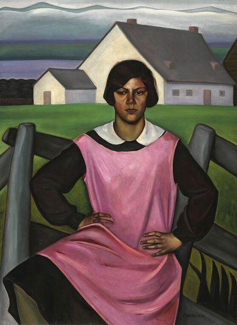 Prudence Heward. Rollande 1929. Musée des beaux-arts du Canada