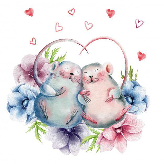 Влюбленные картинки мышек