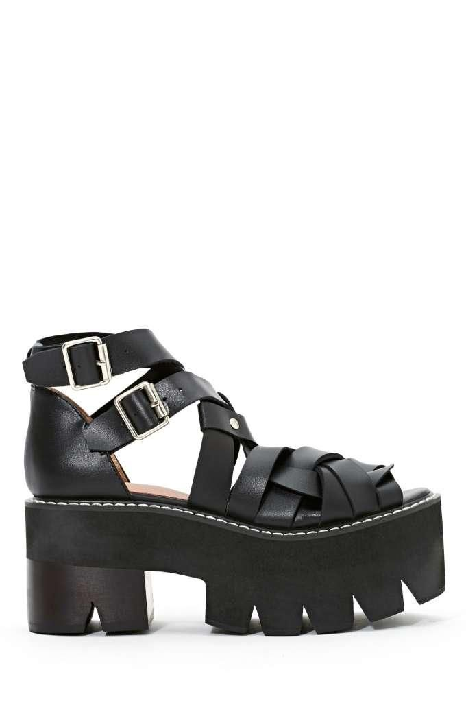 Jeffrey Campbell Cake Platform Sandal: Campbell Cakes, Sandals Features, Sandals 185, Jeffrey Campbell, Chunky Shoes, Louboutin Shoes, Nasty Gal, Cakes Platform, Platform Sandals