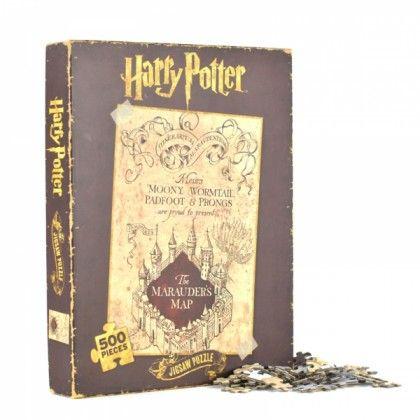 Puzzle Harry Potter - Carte du Maraudeur. Kas Design, Distributeurs de produits originaux