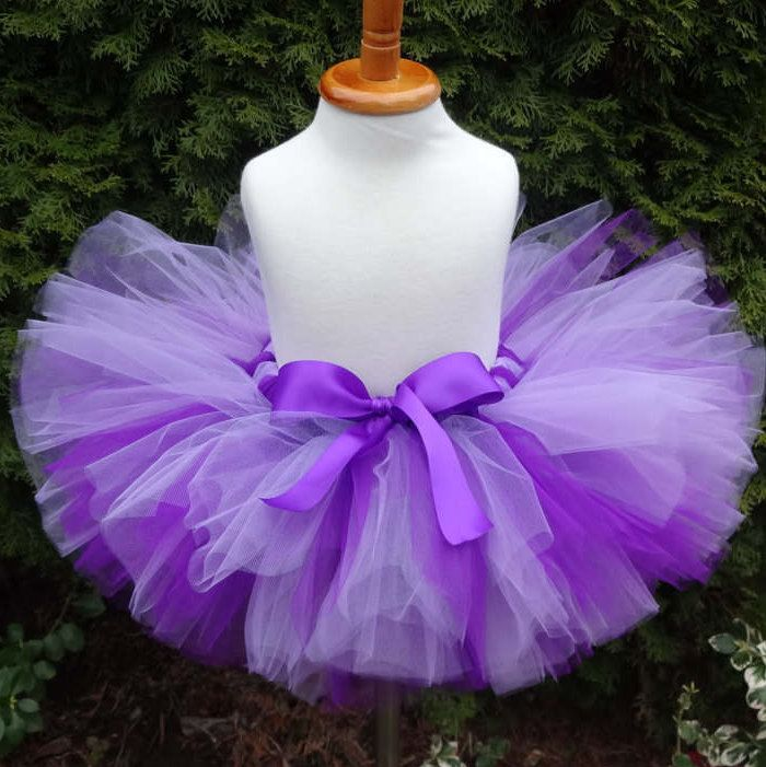 15% OFF SALE Lavender Tutu, Easter Tutu, Baby Tutu, Toddler Tutu, Birthday Tutu, Lavender Skirt, Ombre Tutu, Purple Tutu, Sewn Tutu, Purple - $23.80 USD