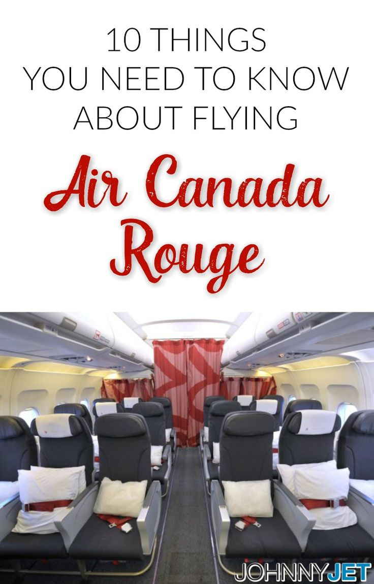Air Canada Rouge services 52 routes from Toronto, Montreal, Calgary and Vancouver—including 11 to Europe. Here are 10 things you need to know about flying Air Canada rouge: