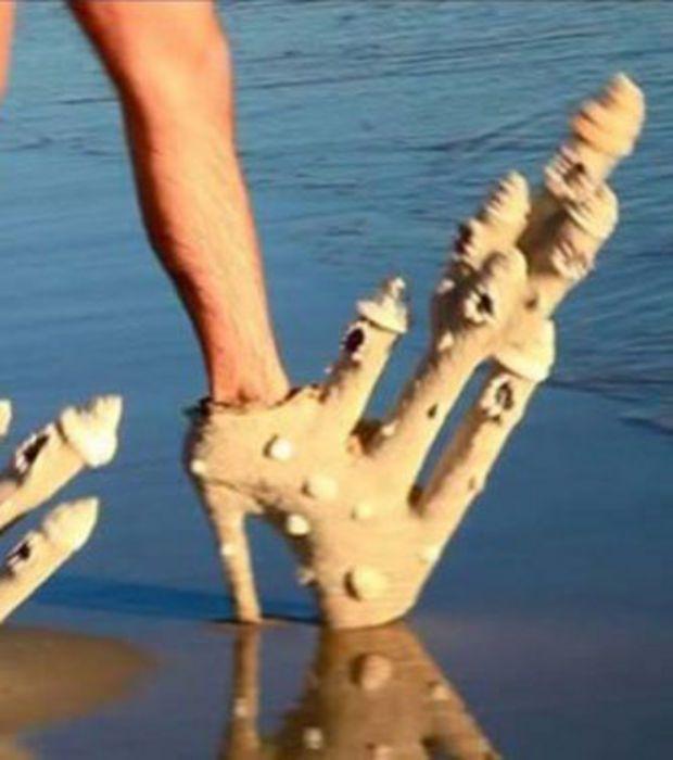 Des chaussures qui sont dignes d'un clip de Lady Gaga