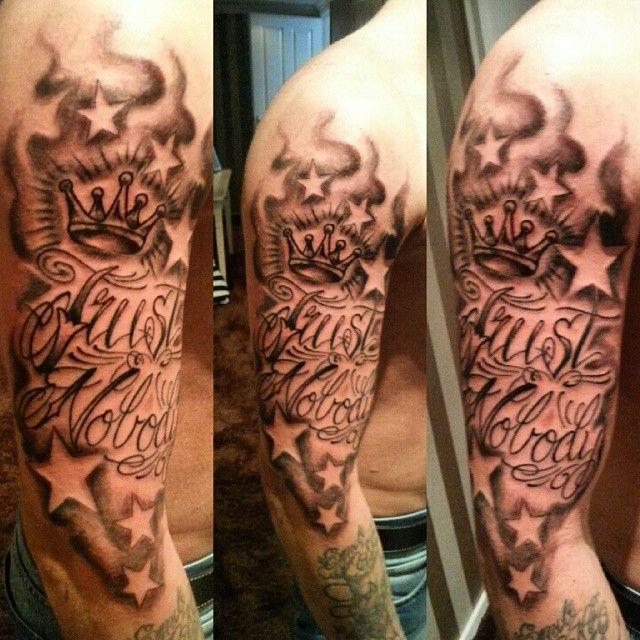 Trust Nobody Tattootattzinkingtattoosblackandgreycutelove