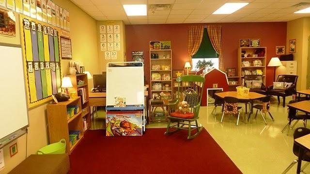 Gorgeous classroom!
