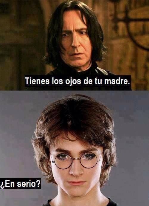 La unica mentira en Harry Potter