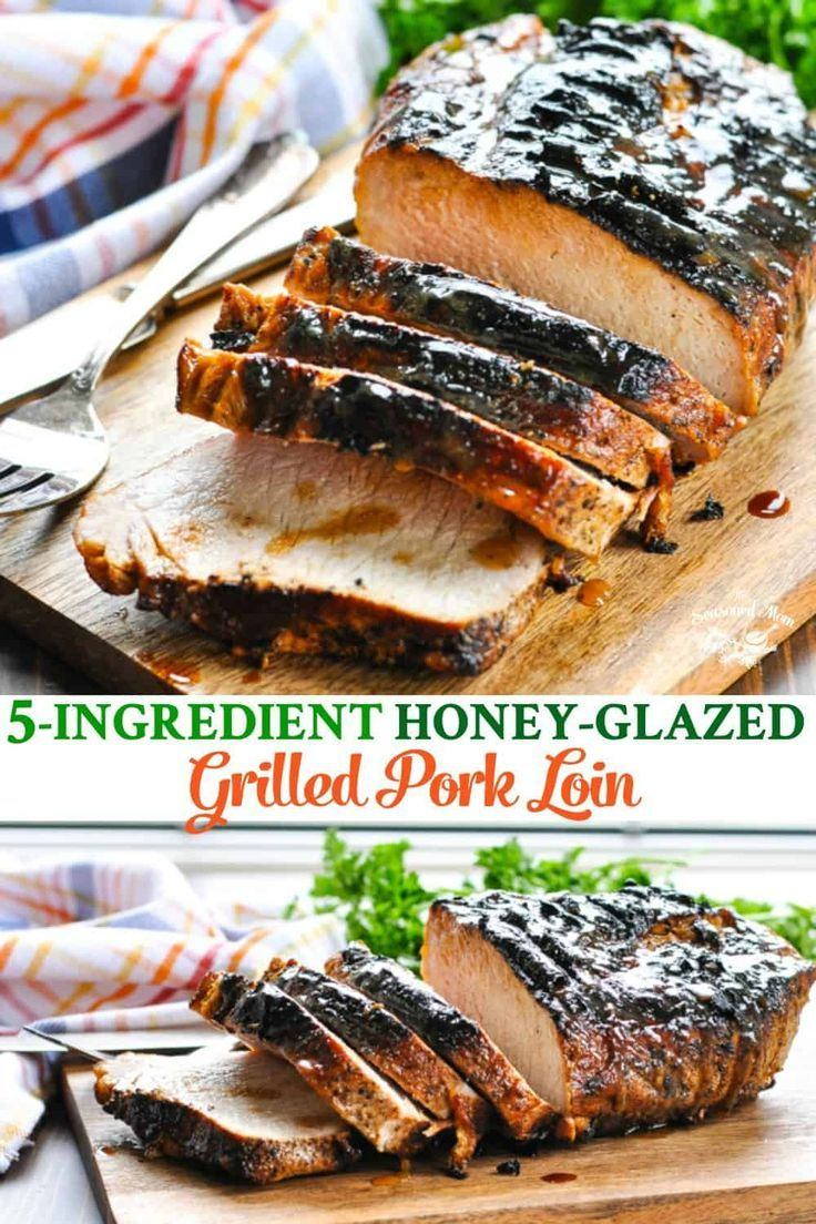 how long to cook a whole pork loin on the grill
