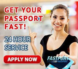 Apply online for expedited passports service in 24 to 48 hours through Fastport Passport