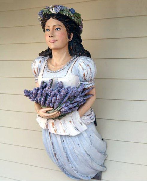 Eight Bells Carving - The Lavender Maiden