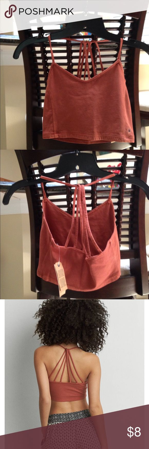 American Eagle This is a American Eagle Bralette in a size med nwt never worn . No trades other apps or PayPal , I do take offers and bundle my discount is 2/20% American Eagle Outfitters Tops