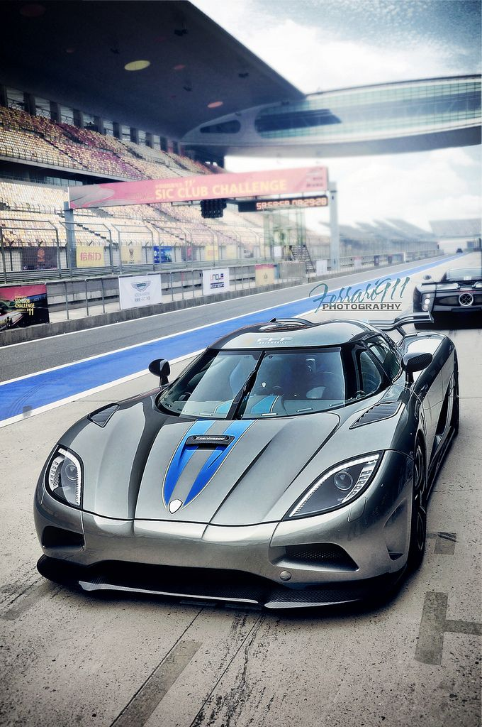 Koenigsegg Agera track day - who would love to take this beauty for a spin?