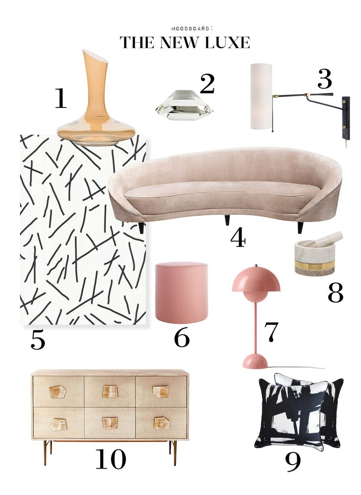 Monday Moodboard: The New Luxe