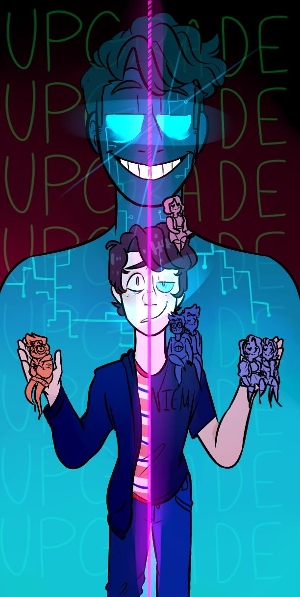 Should I Take the UPGRADE? Speedpaint | Be More Chill | Be ...