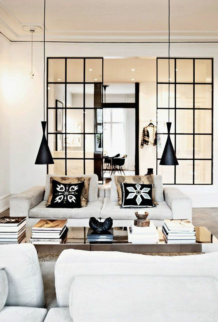 Best 25 cloison en verre ideas on pinterest int rieur portes en verre por - Cloison de verre interieure ...